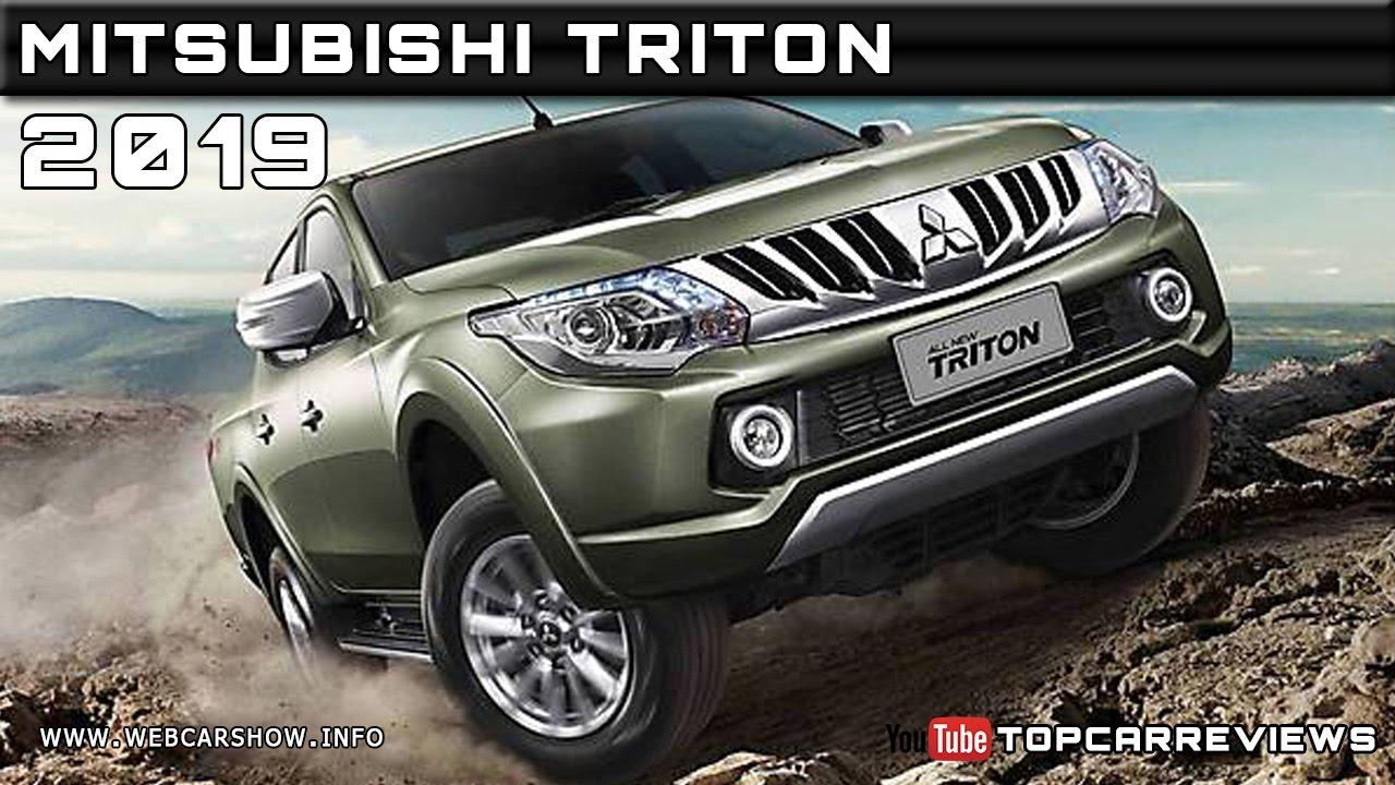 2019 mitsubishi triton review rendered price specs release date