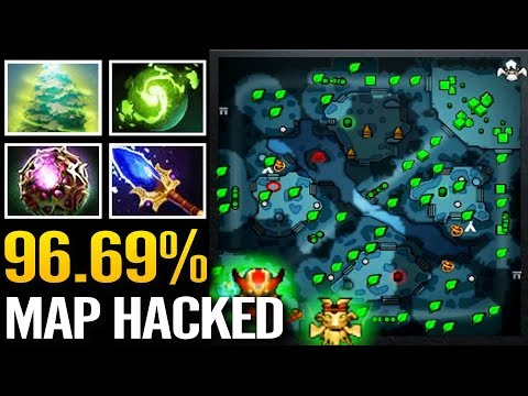 Wagamama 96.69% Map Hack - Treant Protector Scepter Support Dota 2