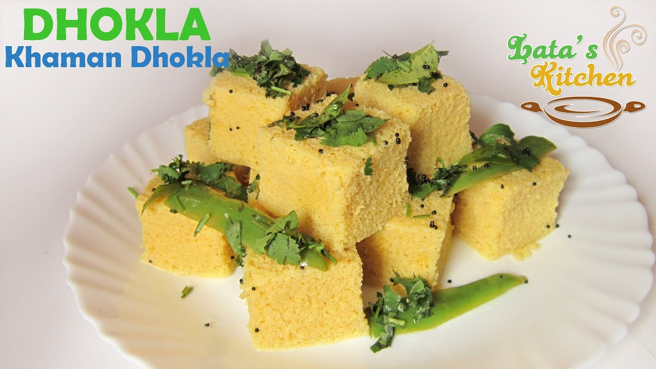 Dhokla instant khaman dhokla recipe video gujarati indian dhokla instant khaman dhokla recipe video gujarati indian vegetarian snack latas kitchen youtube forumfinder Images