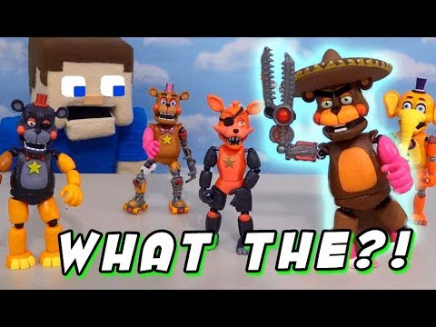 FNAF Funko Mix and Match FUN w/ Five Nights at Freddy's Pizzeria Simulator Articulated Figures thumbnail