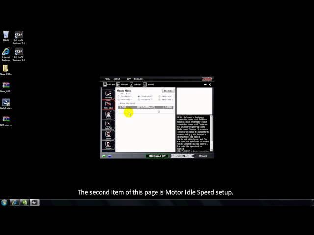 DJI Naza-M Assistant-Motor Mixer