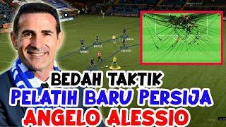 Bedah Taktik Angelo Alessio Pelatih Baru Persija Jakarta