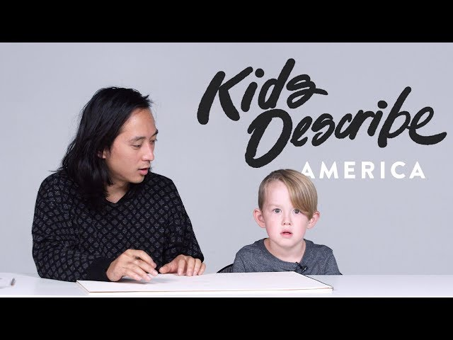 Kids Describe America to Koji the Illustrator