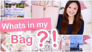 WHATS IN MY BAG | Mamiseelen