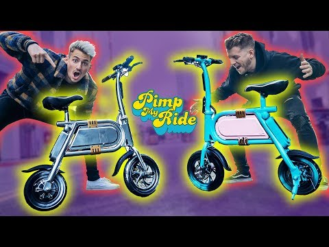 PIMPED OUT OUR $1,000 SCOOTER BIKES!