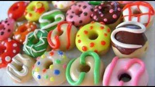 Изделия из полимерной глины#Пончики#Полимерная глина для начинающих#Поделки с детьми