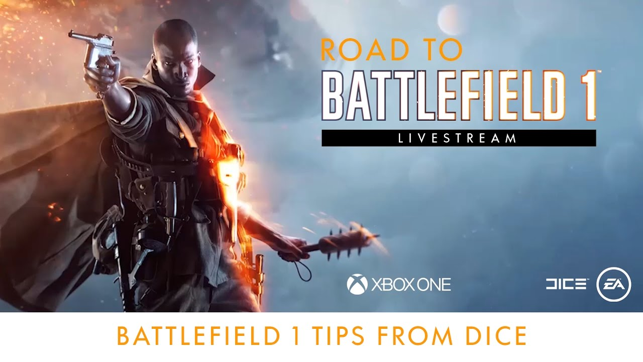 Road to Battlefield 1 - Battlefield 1 Tips from DICE - See maps and modes from the full game as seen in the Play First Trial, and get inside tips from the developers.