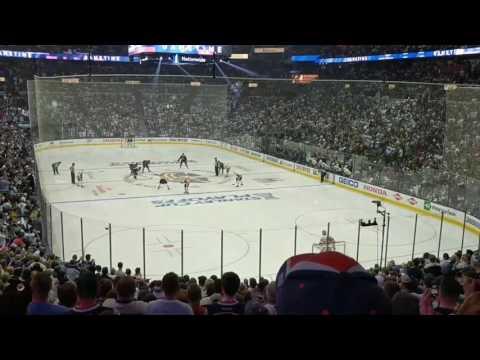 Pittsburgh Penguins vs Columbus Blue Jackets playoff game 3 April 16 2017