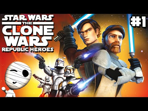 clone-wars-hype!---star-wars-the-clone-wars-republic-heroes-#1---let's-play-gameplay-deutsch
