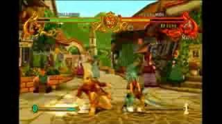 Battle Fantasia Xbox 360 Gameplay