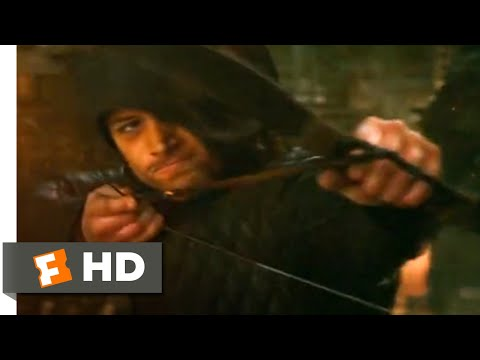 Robin Hood (2018) - Rooftop Horse Chase Scene (6/10) | Movieclips