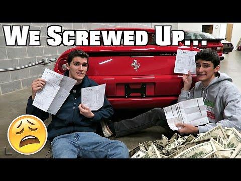 Don't buy A Used Ferrari...