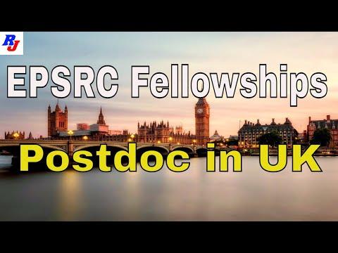 EPSRC Fellowships In UK University L Postdoc In UK L Researchersjob