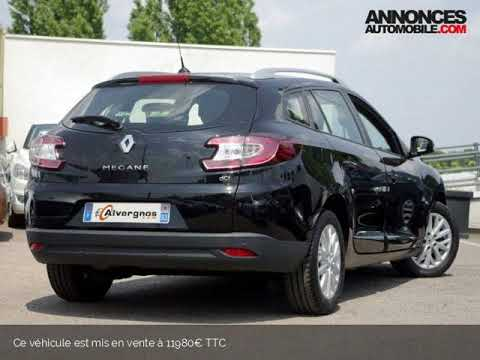 Renault MEGANE III 3 ESTATE 1.5 DCI 110 BUSINESS EDC ECO2 Alvergnas Automobiles