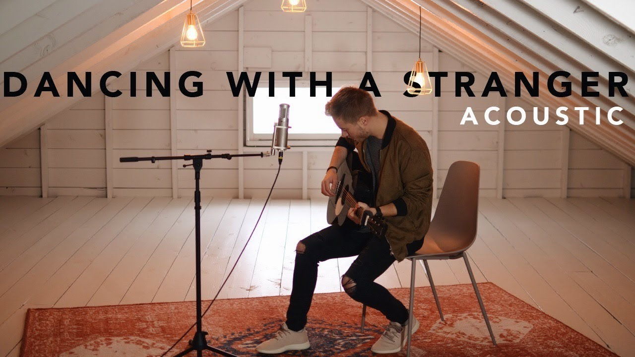 Dancing With A Stranger - Sam Smith, Normani (Acoustic Cover by Jonah Baker) image