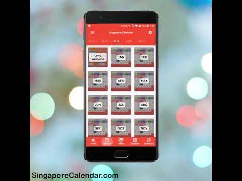 Singapore Calendar 2019 - 2021 - Apps on Google Play