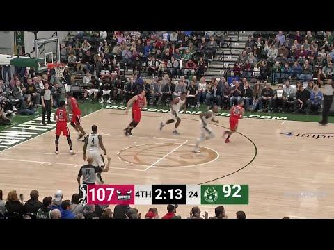 Joel Bolomboy Posts 25 points & 14 rebounds vs. Windy City Bulls