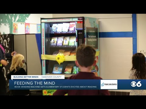 Henry Clay Elementary School launches book vending machine