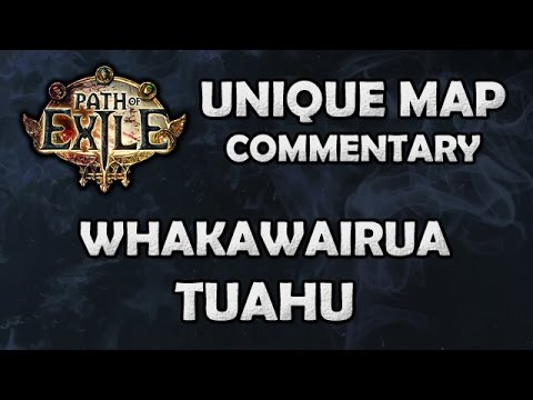 Path of Exile: WHAKAWAIRUA TUAHU Unique Map - Beyond League (Hardcore)