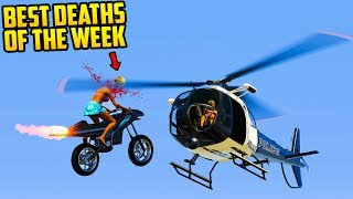 TOP 10+ DEATHS & FAILS OF THE WEEK IN GTA 5! (Brutal & Funny Deaths) [Ep. 67] thumbnail
