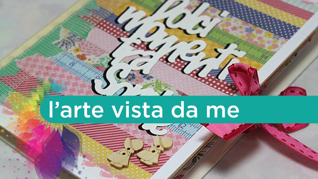 "Estremamente Scrapbooking Tutorial:Accordion Mini Album ""Dolci momenti tra  RG67"