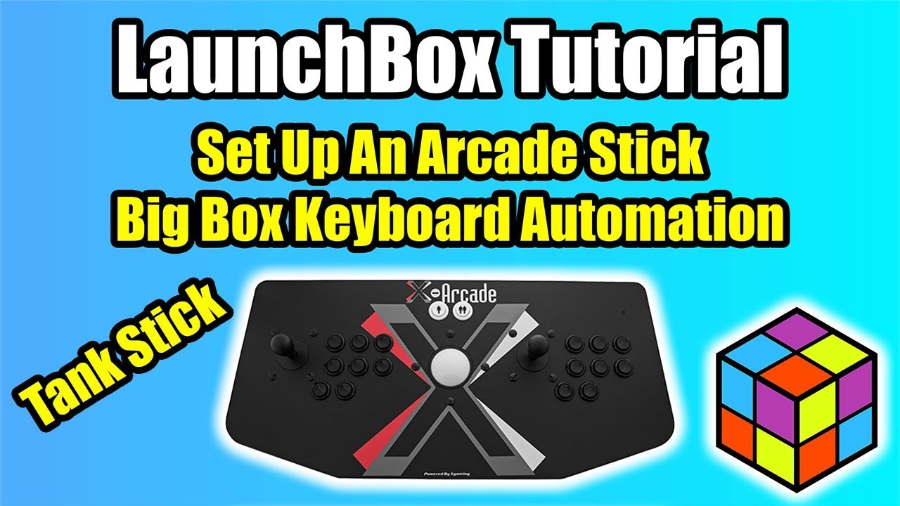 Set Up an X-Arcade Tankstick Using Keyboard Automation in Big Box -  LaunchBox Tutorial