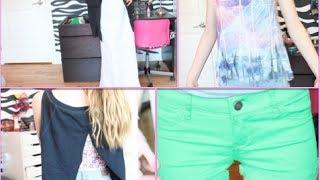 DIY~ Clothes! Maxi Skirt, Shorts & Shirts (Affordable) Thumbnail