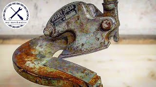 1930s Rusty Metal Shear - Perfect Restoration