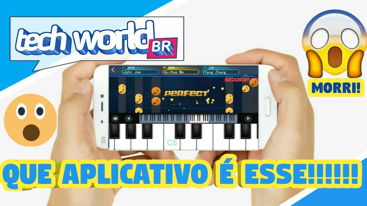 APRENDA TOCAR PIANO PELO CELULAR!! MUITO FÁCIL!#1 - YouTube