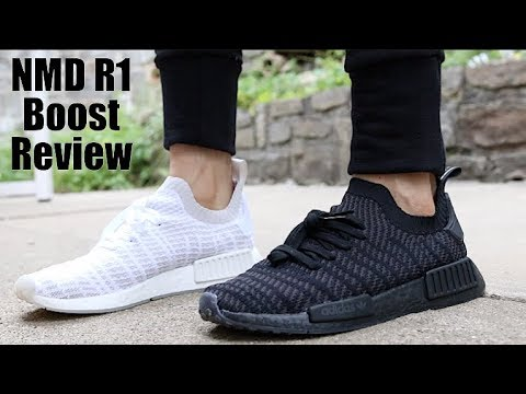 fa7383c33 Adidas NMD R1 STLT Unboxing   Review - Adidas Weird Sizing - YouTube