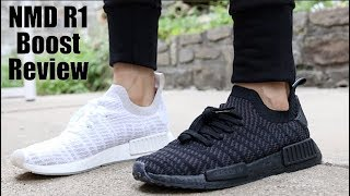 78135be3214d22 Adidas NMD R1 STLT Unboxing   Review - Adidas Weird Sizing