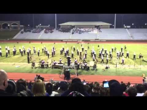 Ridge View High School Blazer Band-Metal 2014 State finals
