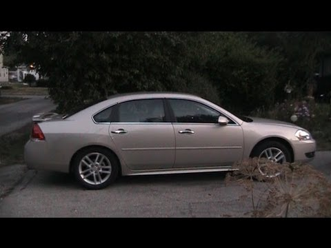 2012 Chevrolet Impala Overview Test Drive Review Youtube
