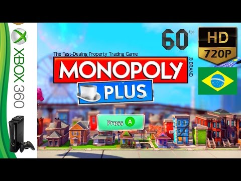 Monopoly Plus - Bairros de Brasília - Single Player - Xbox 360 - HD 720P @ 60 fps