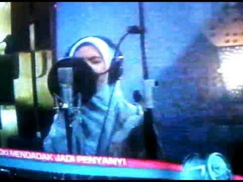 Oki Setiana Dewi rekaman Karna Hati Bicara - Go Spot 25 okt 2010