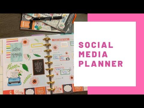 Social Media Planner: Plan With Me: November 25-December 1, 2019