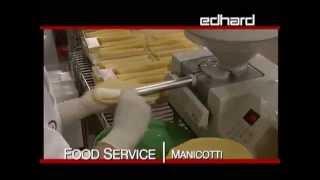 Food Service Filling Manicotti And Stuffed Shells