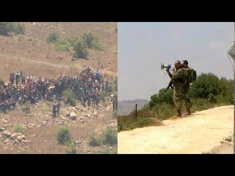 شاهد: ضابط إسرائيلي يمنع سوريين هاربيين من الاقتراب من السياج الحدودي الإسرائيلي بالجولان …  - نشر قبل 2 ساعة