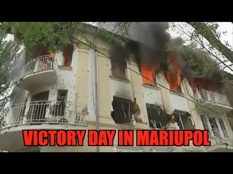 Victory Day in Mariupol