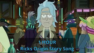 Ricks Origin Story Song 1 HOUR  Rick and Morty