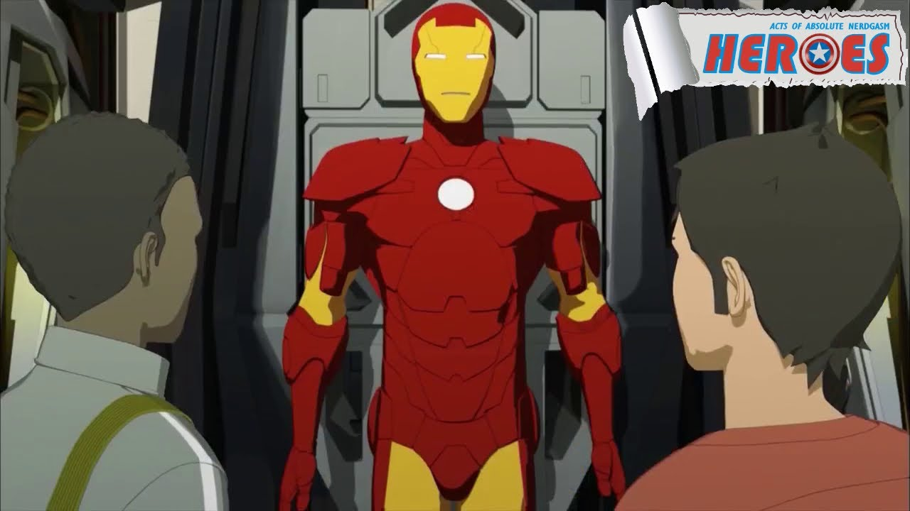 iron man armored adventures  iron man mark i debut