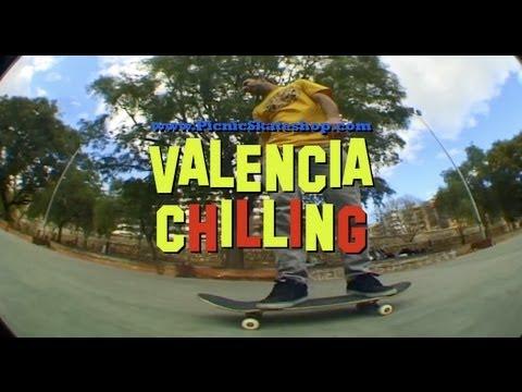 En Valencia con el team de Picnic Skateshop.