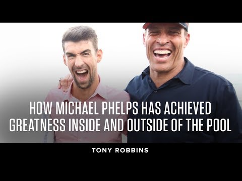 How Michael Phelps has achieved greatness inside and outside of the pool | Tony Robbins Podcast