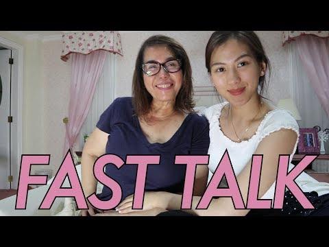 Fast talk with Mommy Pinty by Alex Gonzaga