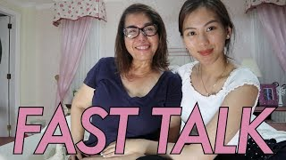 Fast talk with Mommy Pinty by Alex Gonzaga