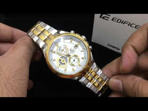 Casio Edifice EFR-556SG-7AV Steel Golden Watch Refurbished By MyFoxdean India