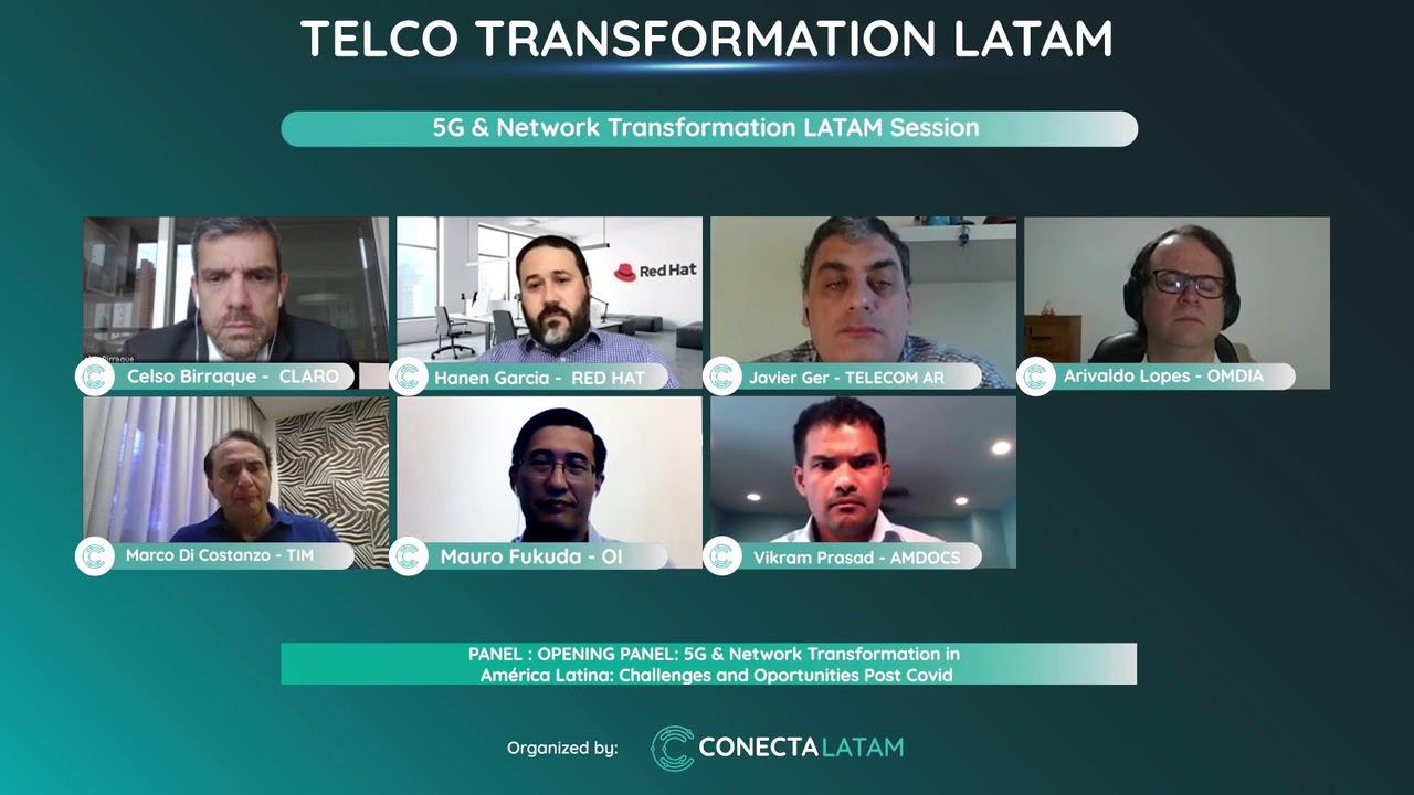 5G & Network Transformation na América Latina: Desafios e Oportunidades no pós covid