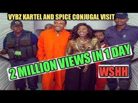 Vybz Kartel and Spice Conjugal Visit Got 2 Million Views In 1 Day On WSHH