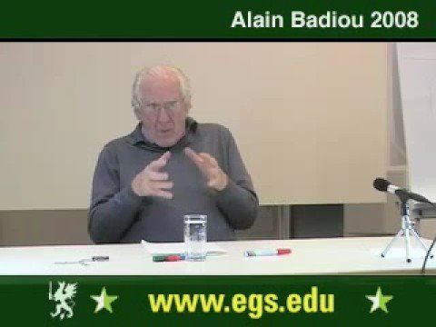 Alain Badiou. What Is Love. Sexuality And Desire. 2008. 8/12