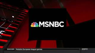 ESPN's SportsCenter׃ Brought to you by MSNBC